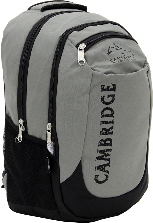 Cambridge Polo Club, School & Backpack, Gray