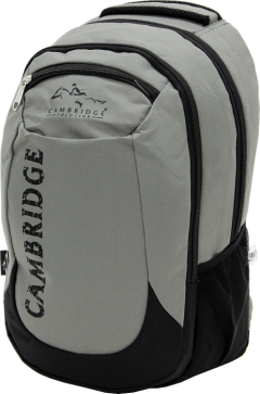 Cambridge Polo Club, School & Backpack, Gray-2