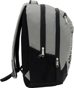 Cambridge Polo Club, School & Backpack, Gray-3