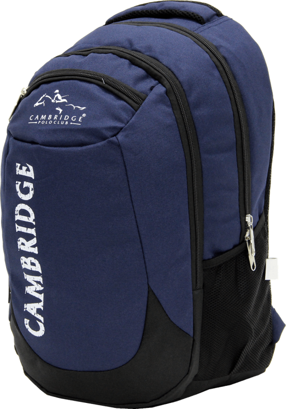 Cambridge Polo Club, School & Backpack, Navy Blue