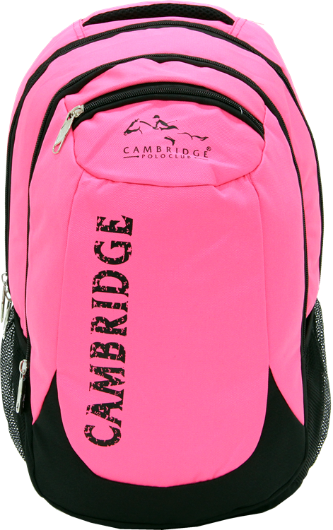 Cambridge Polo Club, School & Backpack, Pink