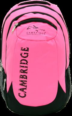 Cambridge Polo Club, School & Backpack, Pink