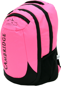 Cambridge Polo Club, School & Backpack, Pink-2