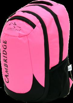 Cambridge Polo Club, School & Backpack, Pink-2