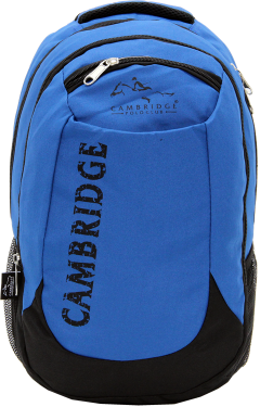 Cambridge Polo Club, School & Backpack, Blue