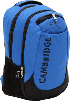 Cambridge Polo Club, School & Backpack, Blue-1