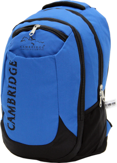 Cambridge Polo Club, School & Backpack, Blue-2