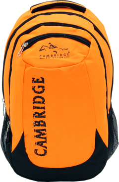 Cambridge Polo Club, School & Backpack, Orange