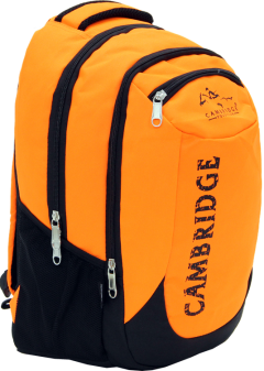 Cambridge Polo Club, School & Backpack, Orange-1