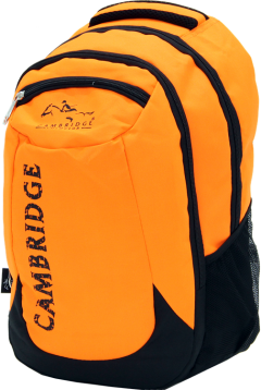 Cambridge Polo Club, School & Backpack, Orange-2