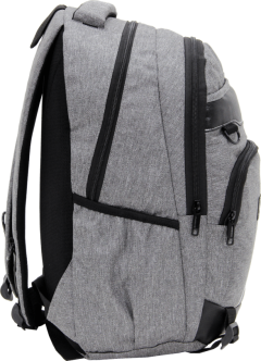 Cambridge Polo Club Plcan1685, Jeans Fabric Backpack, Gray-3