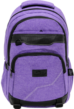 Cambridge Polo Club Plcan1685, Jeans Fabric Backpack, Purple-0