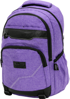 Cambridge Polo Club Plcan1685, Jeans Fabric Backpack, Purple-2