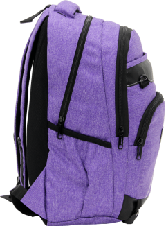 Cambridge Polo Club Plcan1685, Jeans Fabric Backpack, Purple-3