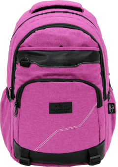 Cambridge Polo Club Plcan1685, Jeans Fabric Backpack, Pink