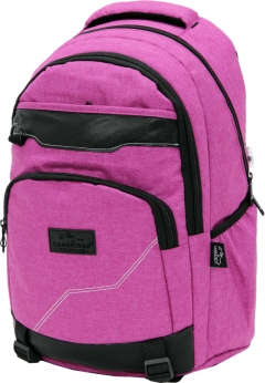 Cambridge Polo Club Plcan1685, Jeans Fabric Backpack, Pink-2