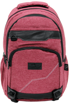 Cambridge Polo Club Plcan1685, Jeans Fabric Backpack, Bordeaux-0