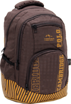 Cambridge Polo Club Plcan1680, Backpack, Coffee-1
