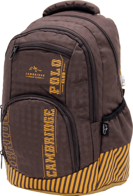 Cambridge Polo Club Plcan1680, Backpack, Coffee