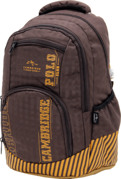 Cambridge Polo Club Plcan1680, Backpack, Coffee-2