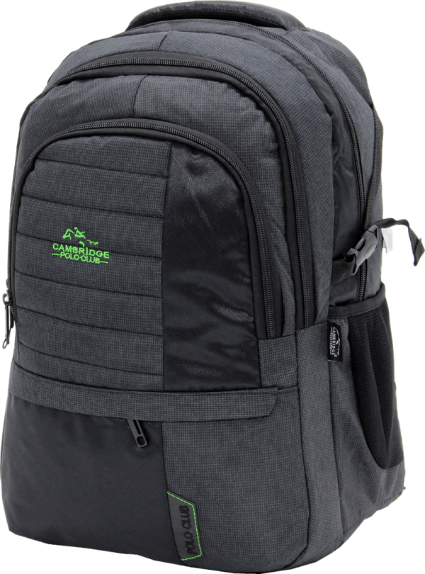 Cambridge Polo Club Plcan1729, Business Bacpack, Green