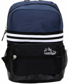 Cambridge Polo Club, Unisex Mini Backpacks, Navy Blue