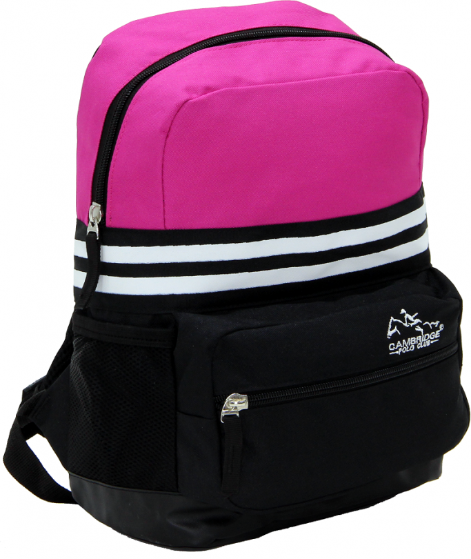 Cambridge Polo Club, Unisex Mini Backpack, Pink