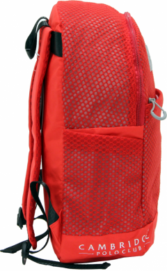 Cambridge Polo Club Plcan1655, File Backpack, Red-1