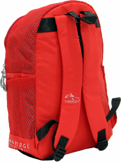 Cambridge Polo Club Plcan1655, File Backpack, Red-2