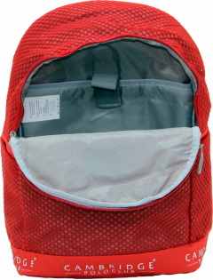 Cambridge Polo Club Plcan1655, File Backpack, Red-3