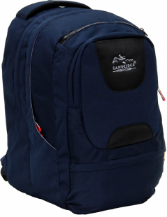 Cambridge Polo Club Plcan1650, Laptop Backpack, Navy Blue