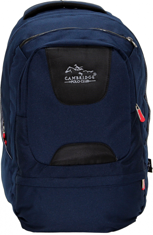 Cambridge Polo Club Plcan1650, Laptop Backpack, Navy Blue
