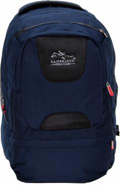 Cambridge Polo Club Plcan1650, Laptop Backpack, Navy Blue-1