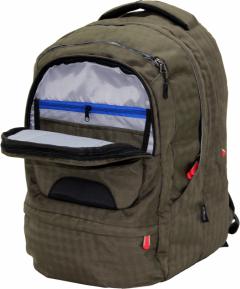 Cambridge Polo Club Plcan1650, Laptop Backpack, Khaki-2