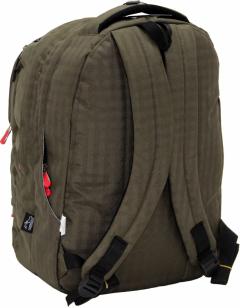 Cambridge Polo Club Plcan1650, Laptop Backpack, Khaki-3