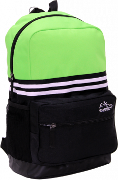 Cambridge Polo Club Plcan1651, Unisex Backpacks, Green-1
