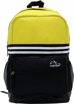 Cambridge Polo Club Plcan1651, Unisex Backpacks, Yellow-0
