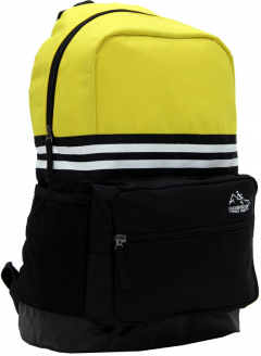 Cambridge Polo Club Plcan1651, Unisex Backpacks, Yellow-1
