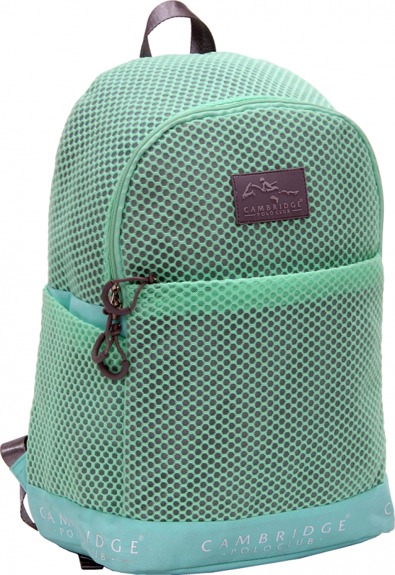 Cambridge Polo Club Plcan1655, File Backpack, Peanut Green