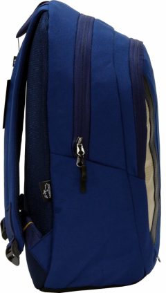 Cambridge Polo Club Plcan1654, Laptop Backpack, Navy Blue-1