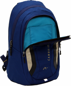 Cambridge Polo Club Plcan1654, Laptop Backpack, Navy Blue-3