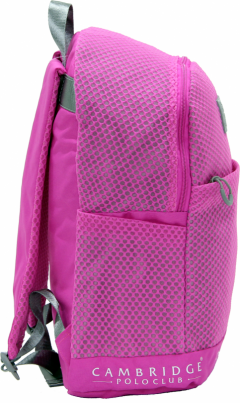 Cambridge Polo Club Plcan1655, File Backpack, Fuchsia-1