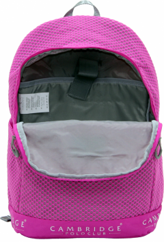 Cambridge Polo Club Plcan1655, File Backpack, Fuchsia-3