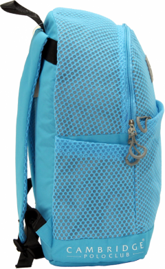 Cambridge Polo Club Plcan1655, File Backpack, Blue-1