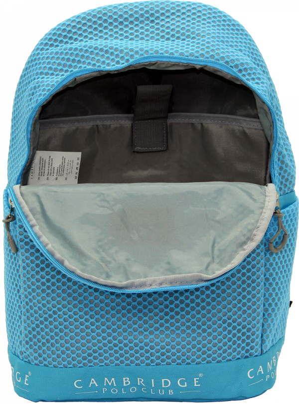 Cambridge Polo Club Plcan1655, File Backpack, Blue