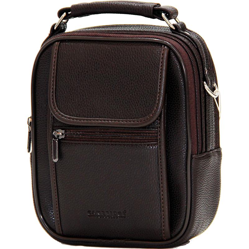 Cambridge Polo Club, Portfolio Handbag Medium, Coffee