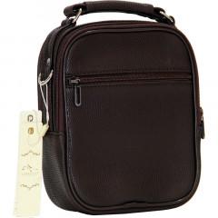 Cambridge Polo Club, Portfolio Handbag Medium, Coffee-1
