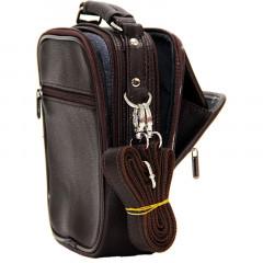 Cambridge Polo Club, Portfolio Handbag Medium, Coffee-2