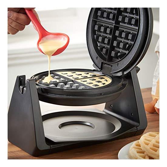 Vonshef Waffle Maker Rotating Waffle Iron With