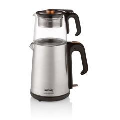 Arzum AR3024 Çaycı Heptaze Çay Makinesi - Inox / Cam-0